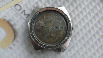 $ CDN220.27 • Buy Seiko 6139 Automatic Pepsi Bezel Chronograph Watch For Parts/Repair AS IS.