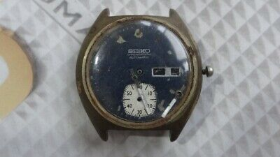 $ CDN168.14 • Buy Seiko 6139 Automatic Chronograph Watch For Parts/Repair AS IS.,,.
