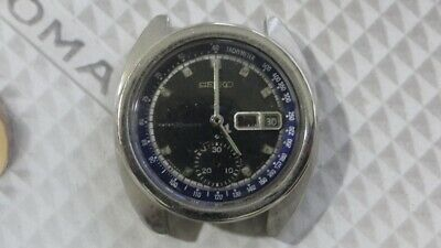 $ CDN233.31 • Buy Seiko 6139 Automatic Chronograph Watch For Parts/Repair AS IS,,,..
