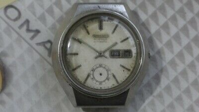 $ CDN220.27 • Buy Seiko 6139 Automatic Chronograph Watch For Parts/Repair AS IS.