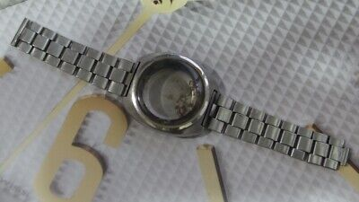 $ CDN155.10 • Buy Seiko 6139 Automatic Chronograph Watch Case For Parts/Repair AS IS...