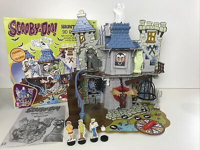 Scooby-Doo! Haunted House 3D Board Game Tested & Working Please Read • 24.99£