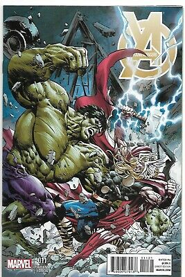 Young Avengers #11 1:20 Deodato Thor Battle Variant Nm 9.0  • 28.99£