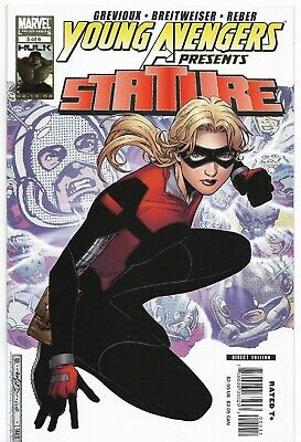 YOUNG AVENGERS Presents STATURE #5 VF/NM - Cassie Lang STATURE Origin • 15.99£