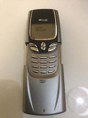 Nokia 8850 - Silver Vodafone Mobile Phone Works As It Should. • 80£