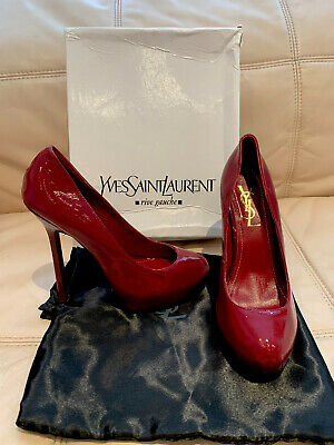 YSL Tribtoo Pumps Heels Shoes Size WORN ONLY 15 Mins • 49£