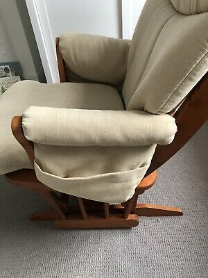 Dutailier Glider Nursing Maternity Rocking Chair With Stool • 53£