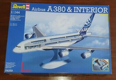 Revell Airbus A380 Airliner With Interior 1/144 Scale • 16.80£
