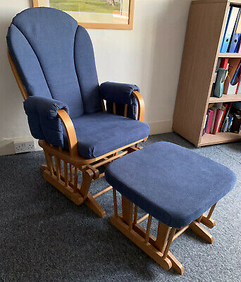 Dutailier Glider Nursing Maternity Rocking Chair With Stool • 35£
