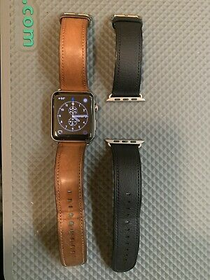 $ CDN98.18 • Buy Apple Watch Series 2 42mm Stainless Steel Case With 2 Bands - (MNPR2LL/A)