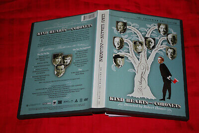 Kind Hearts And Coronets - OOP R1 Criterion - Alec The Lavender Hill Mob Guiness • 59.99£