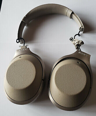$ CDN72.48 • Buy Gold Sony WH1000XM2 Over-Ear Wireless Headphones - Works But SOLD-AS-IS - Read