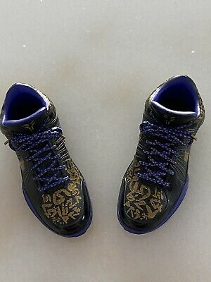 $100 • Buy 1/6 Kobe Bryant 2009 NBA  Finals AWAY Shoes For Enterbay Figure