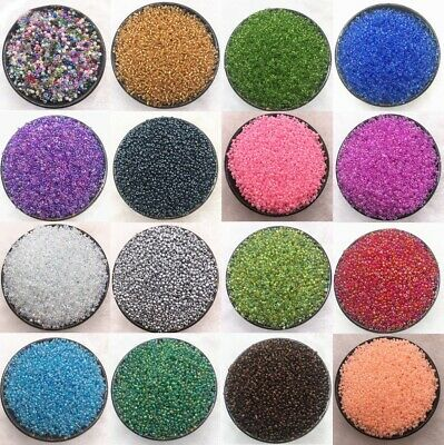 $ CDN1.60 • Buy 1000pcs/2/3/4mm Czech Glass Beads Seed Jewelry Spacer Loose Round Making Lot