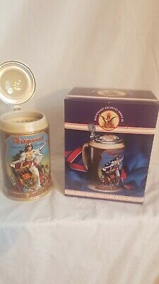 $ CDN6.55 • Buy BEAUTIFUL Vintage 1994 Budweiser  Greatest Triumph  Beer Stein. MIB