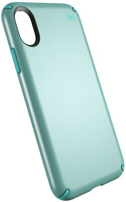 AU10.95 • Buy Speck Presidio Metallic Series Case For IPhone X XS Peppermint Green/Jewel Teal