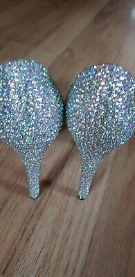 Stunning Diamante Shoes Size 6 New • 9£