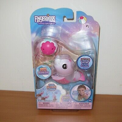 AU42 • Buy WowWee Fingerlings JULES Baby Dolphin Interactive Electronic Pet Toy ~ NEW