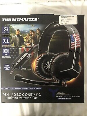 AU94.70 • Buy Thrustmaster Y 350 CPX 7.1 Powered Far Cry 5 Edition Headset NEW PS4 Xbox One PC