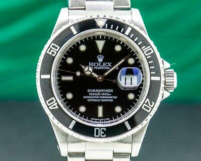 $ CDN10362.03 • Buy Rolex 16610 Submariner SS Black Dial EXCELLENT CONDITION!