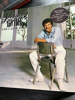 Lionel Richie : Cant Slow Down Vinyl • 1.99£