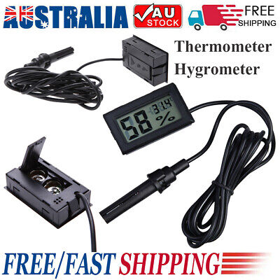 AU17.66 • Buy LCD Thermostat Controller Digital Socket Temperature Detector + Timing Function