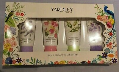 Yardley Set Of 4 Hand Cream Collection Gift Set. Brand New In Box.  50ml • 10.50£