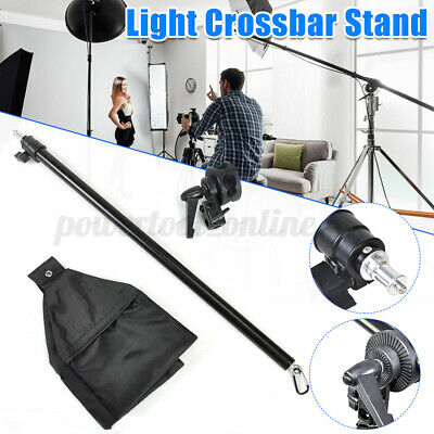 Photograph Studio Overhead Boom Arm Light Stand With Grip Head For Softbox UK • 20.99£
