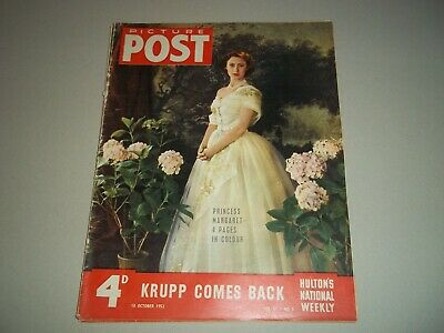 Picture Post Magazine 18 October 1952 Krupp  Princess Margaret • 6.50£