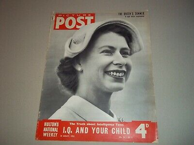 Picture Post Magazine 30 August 1952 Lynmouth Flood  Queens Summer • 6.50£