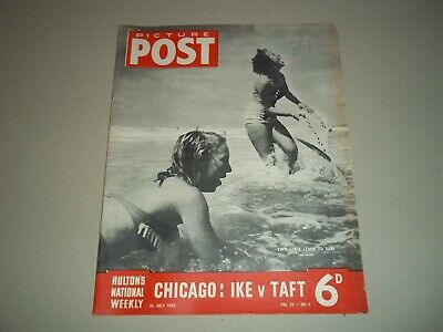 Picture Post Magazine 26 July 1952 Ike V Taft • 6.50£