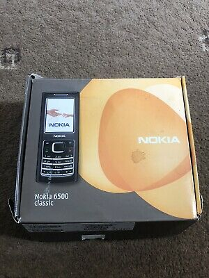 NOKIA 6500 CLASSIC Mobile Phone Accessories With Original Box  NO PHONE INCLUDED • 12£