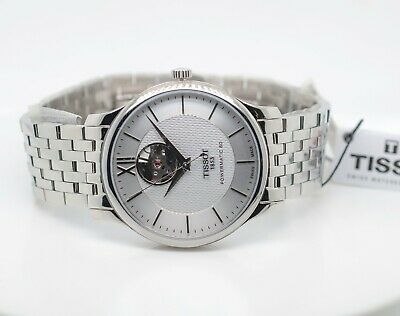 $ CDN210 • Buy Tissot Tradition Powermatic 80 Automatic Movement Stainless Steel Wristwatch