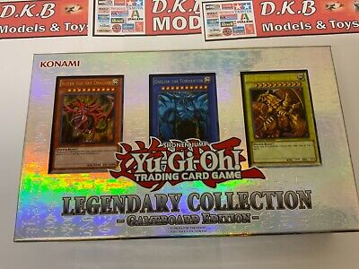 YuGiOh! Legendary Collection 1: Gameboard Edition With 3 Original God Cards • 75£