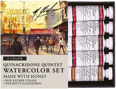 $55.17 • Buy M. Graham & Co. Quinacridone Quintet Watercolor 5 Color Set, Made With Honey