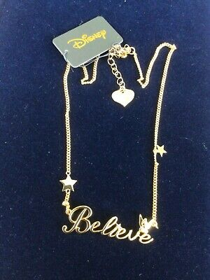 """DISNEY """"TINKERBELL"""" Necklace —16 """" —. Lovely Quality -  BNWT • 12.80£"""