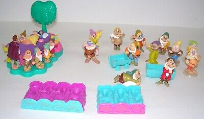 Disney Snow White And The Seven Dwarves Figures Toys Bundle, 21 Figures  • 15£