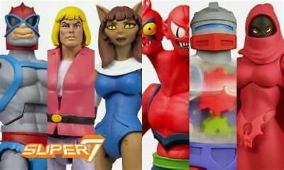 $270 • Buy MOTU Filmation Club Grayskull Wave 4 Case Of 6 Figures Masters Of The Universe