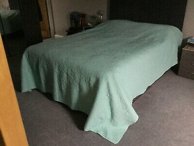 Forever England Jade/Mint Throw Bedspread • 50£