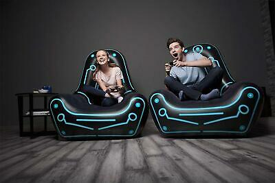 Deluxe Inflatable Lounger Game Seat Air Gaming Chair Adults/Kids  • 33.97£