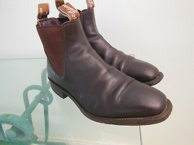AU95 • Buy R M Williams Craftman Leather Chelsea Boots Size 6H