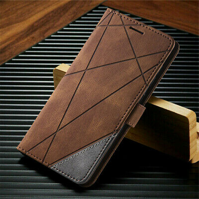 $ CDN8.36 • Buy For Samsung Galaxy S21 S20 FE 5G S10 S9+ Case Magnetic Leather Wallet Flip Cover