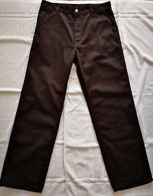 Carhartt Simple Pant.  Dark Brown. Loose / Relaxed Fit. Laundered But Unworn. • 21£