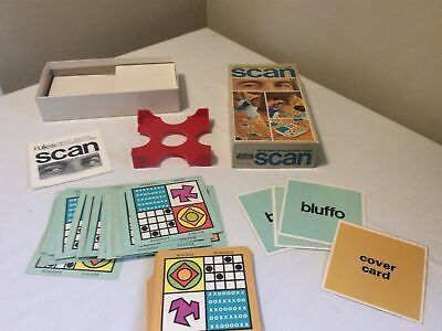Scan Vintage Parker Game Spilt Second Matching Game  • 6.99£