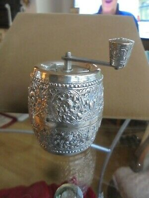 900 Silver Cased Pepper Mill Marlux Made In France • 19.99£