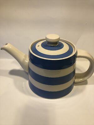 Cornish Blue Extra Large Teapot Made In England • 110£