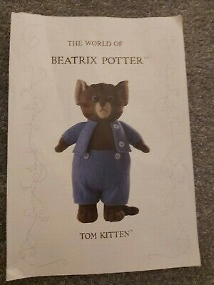 Alan Dart Beatrix Potter Tom Kitten Toy Knitting Pattern  • 6£