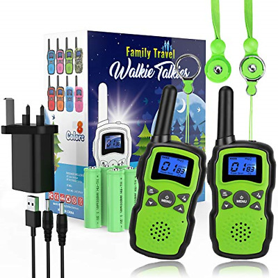 Wishouse Kids Walkie Talkies Long Distance Rechargeable With Charger Battery, 4 • 40.98£