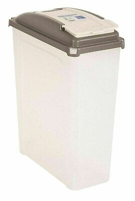 £15.99 • Buy Large 25L Pet Food Container Dog Cat Animal Dry Feed Storage Box Bin Bird Seed L