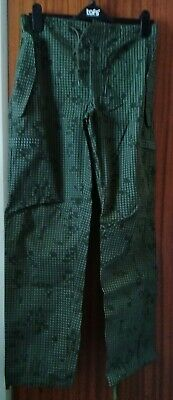Scarce Trials Us Army 1st Gulf War Desert Night Camo Trousers X Small Ladies • 11.99£